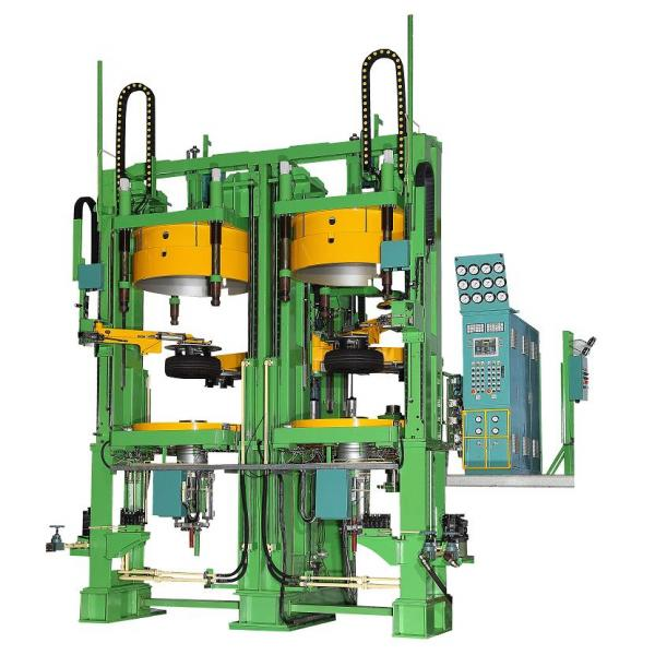 LTR TIRE VULCANIZATION MOLDING MACHINE(OPENING MOLD)